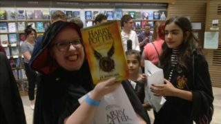 'Harry Potter and the Cursed Child' book launches in London