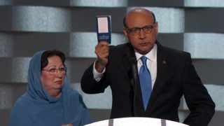 Trump rebuts criticism by Army father at DNC