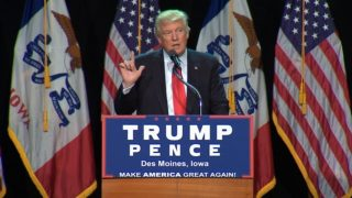 "Trump slams Clinton as ""unstable"""