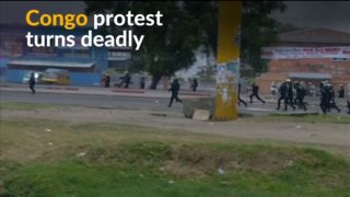 Deadly clashes during Congo anti-government protest