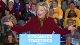 Clinton: Americans don't jail our political opponents