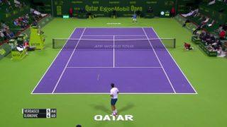 Djokovic survives Verdasco scare to advance in Doha