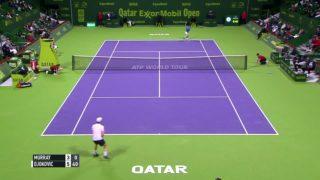 Djokovic makes statement in epic win over Murray in Doha