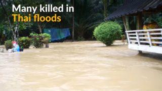 Thai floods kill many