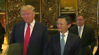Trump and Alibaba CEO pledge 1 million jobs