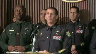 $100,000 reward in hunt for suspect in killing of Florida officer