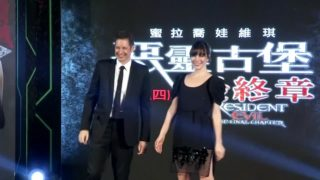 "Jovovich and Anderson bring ""Resident Evil"" to Taiwan"