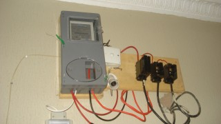 A prepaid meter in one of Nigerian Home      //Photo: Sustain Nigeria
