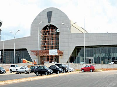 A view of Asaba Airport PHOTO: HENDRIX OLIOMOGBE