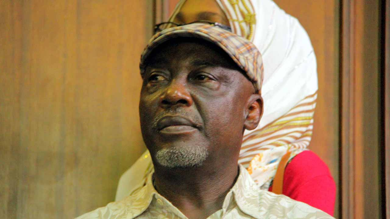 Abba Moro, Former Minister of Interior, at the Federal High Court, Abuja over 2014 Immigration recruitment scam in Abuja on 29/02/16. PHOTO: Ladidi Lucy Elukpo.