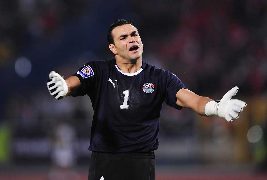 Essam El-Hadary, Egypt Goalkeeper.