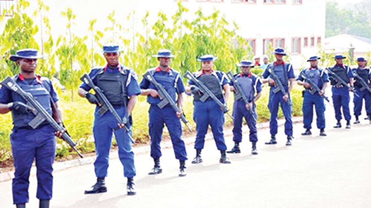 NSCDC arrests 40 suspects for building materials theft