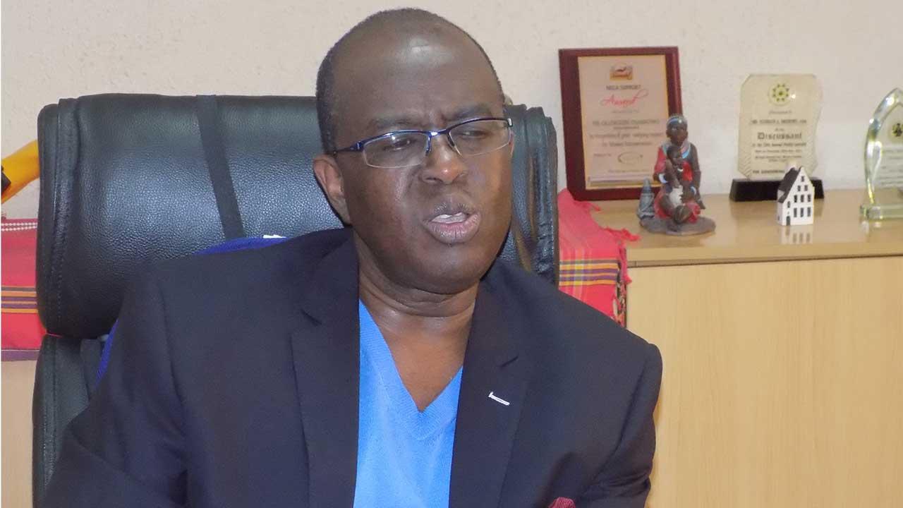 Olusegun Oshinowo, NECA Director General.