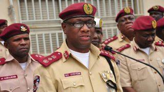 FRSC Boss, Boboye Oyeyemi PHOTO: nigeriannewsservice.com