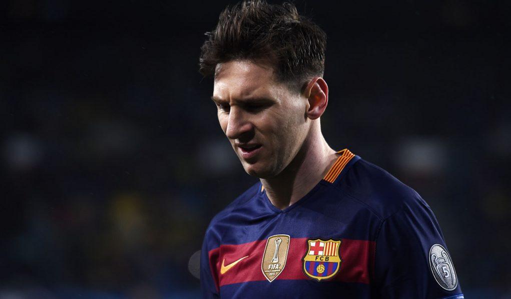 Barcelona's Argentinian forward Lionel Messi . / AFP / JOSEP LAGO