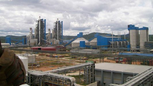 Dangote Cement factory