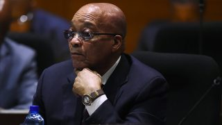 South African President Jacob Zuma / AFP PHOTO / STRINGER