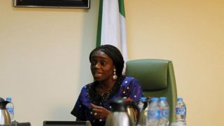 The Minister of Finance, Mrs. Kemi Adeosun