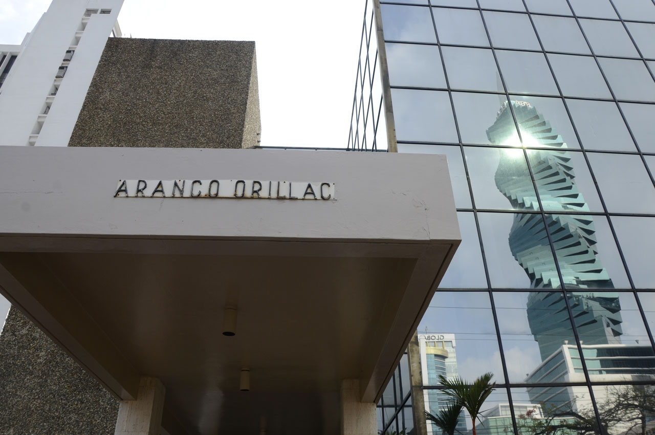 View of the building where Panama-based Mossack Fonseca law firm offices are placed in Panama City on April 3, 2016. A massive leak of 11.5 million tax documents on Sunday exposed the secret offshore dealings of aides to Russian president Vladimir Putin, world leaders and celebrities including Barcelona forward Lionel Messi. An investigation into the documents by more than 100 media groups, described as one of the largest such probes in history, revealed the hidden offshore dealings in the assets of around 140 political figures -- including 12 current or former heads of states. AFP PHOTO / EDUARDO GRIMALDO / AFP / EDUARDO GRIMALDO