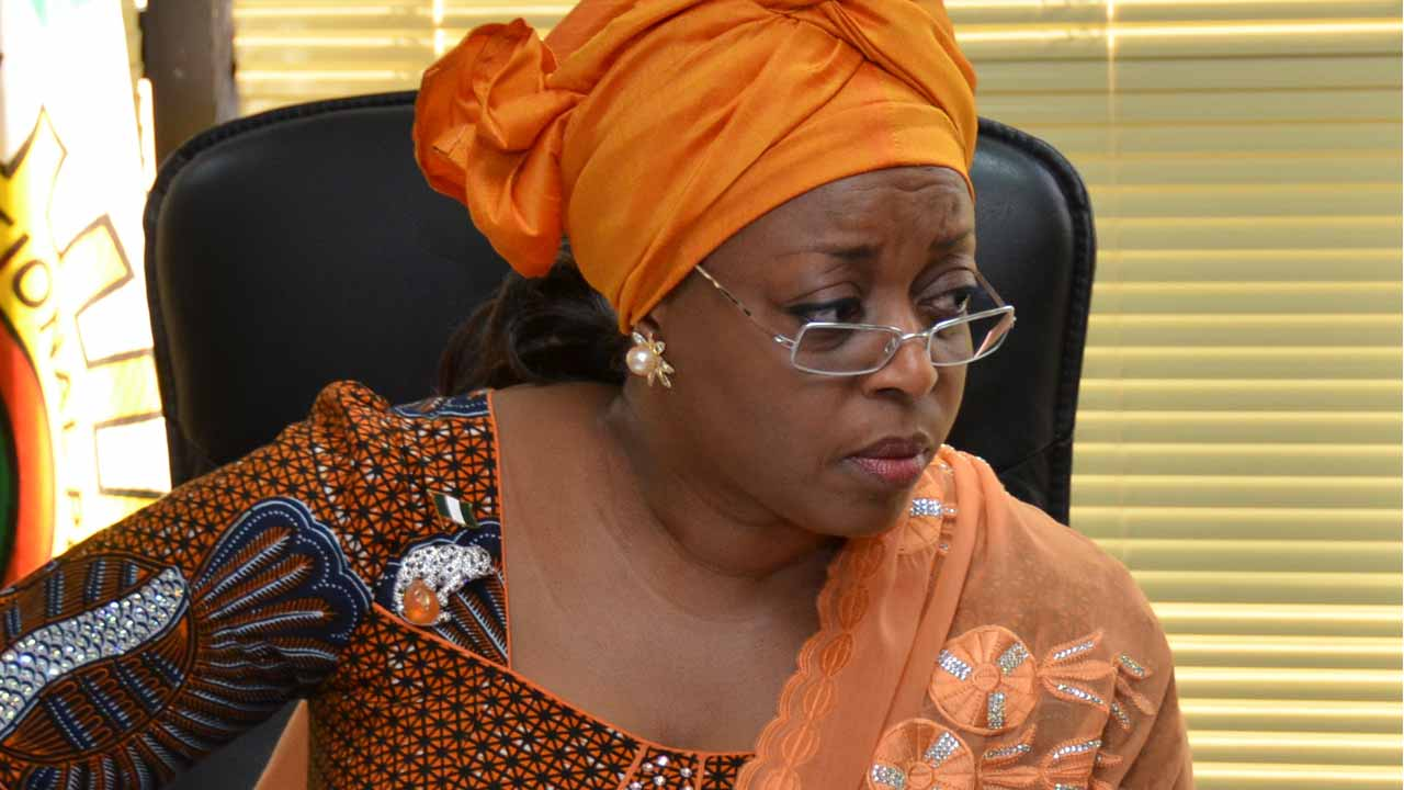 Former Minister of Petroleum, Alison-Madueke