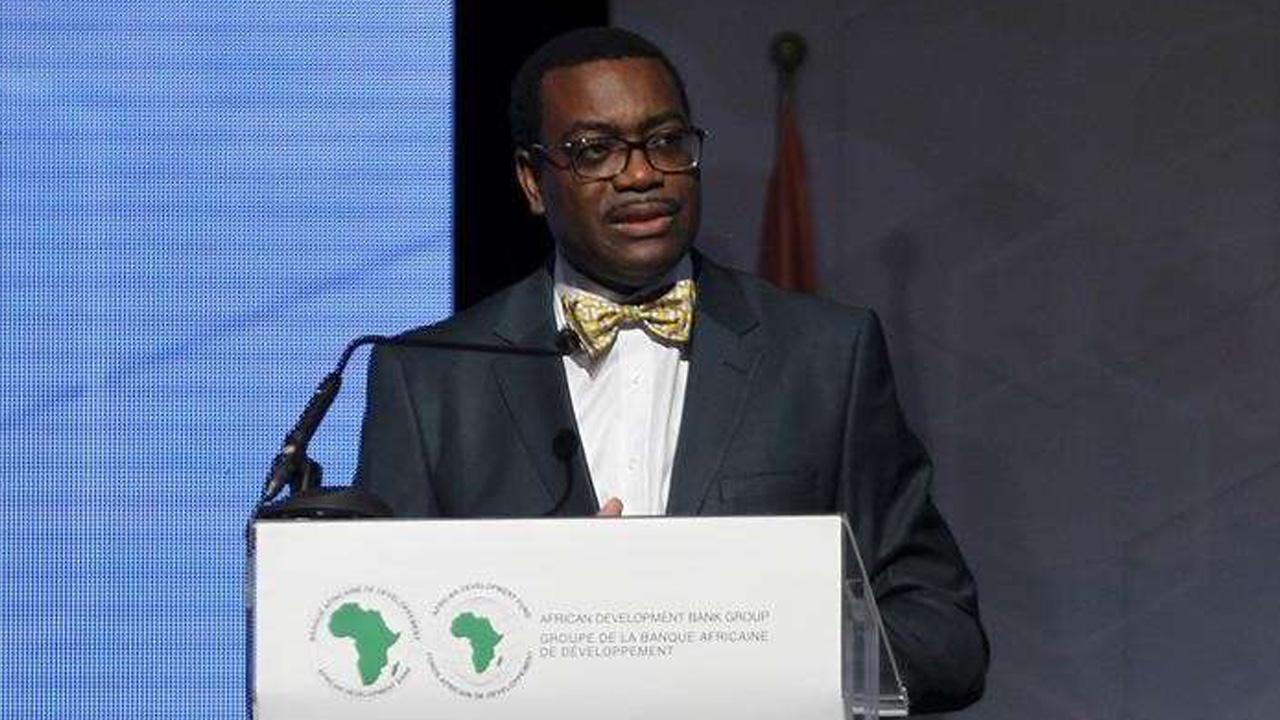 The president of the African Development Bank (AfDB) Akinwumi Adesina of Nigeria