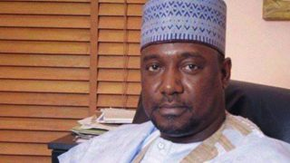 Governor of Niger Alhaji Abubakar Sani Bello