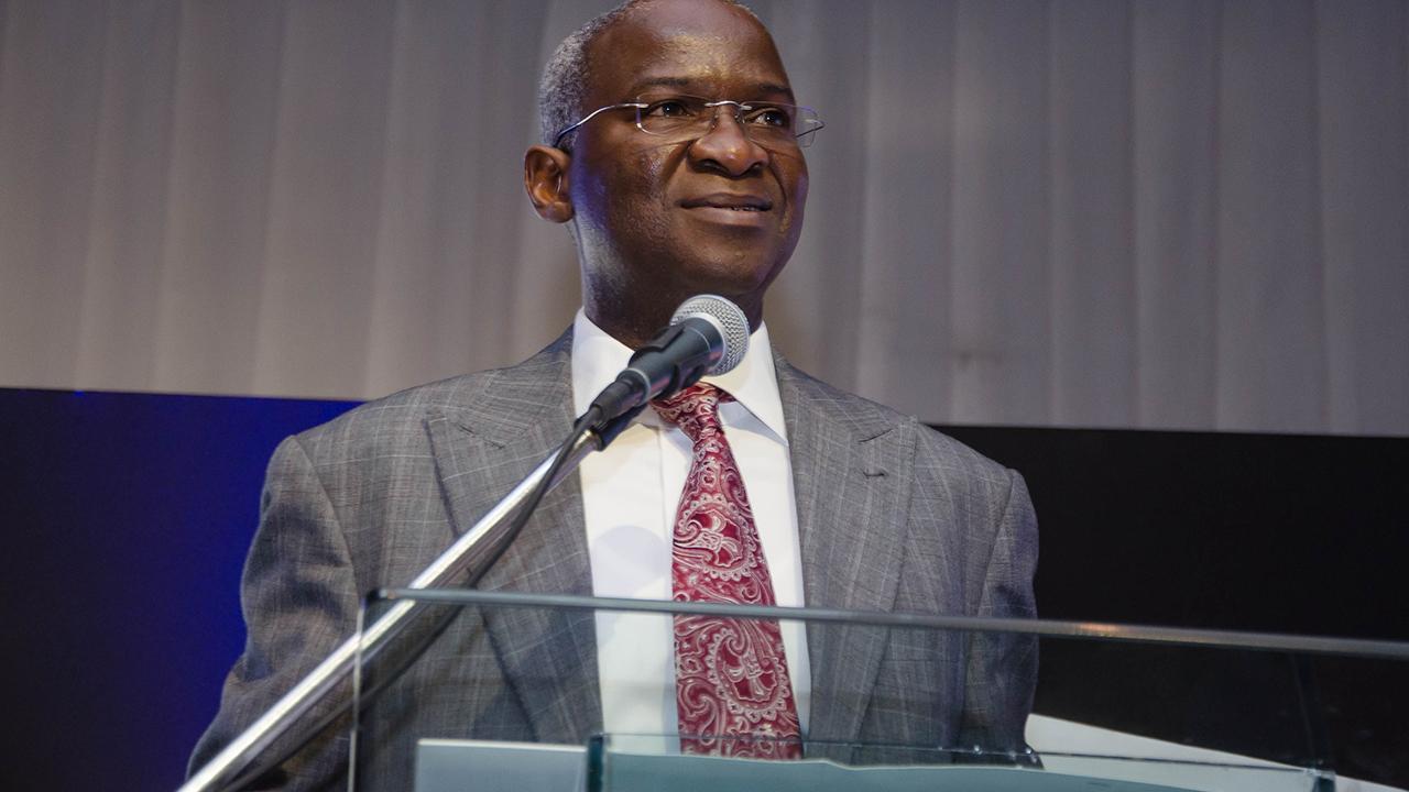 Mr Babatunde Fashola, Minister of Power, Works and Housing.