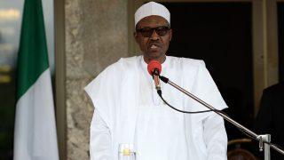 Nigerian President Muhammadu Buhari. AFP PHOTO / POOL / STEPHANE DE SAKUTIN