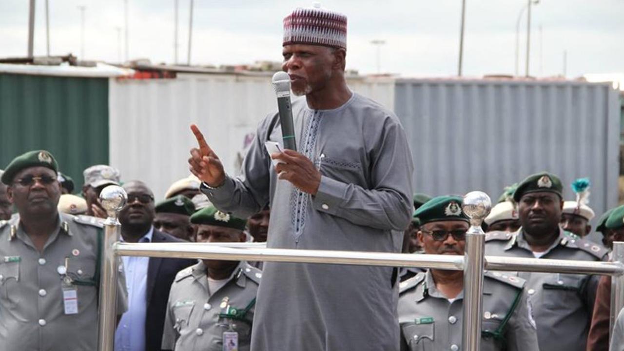 Comptroller-General of Customs, Col. Hameed Ali (Rtd)