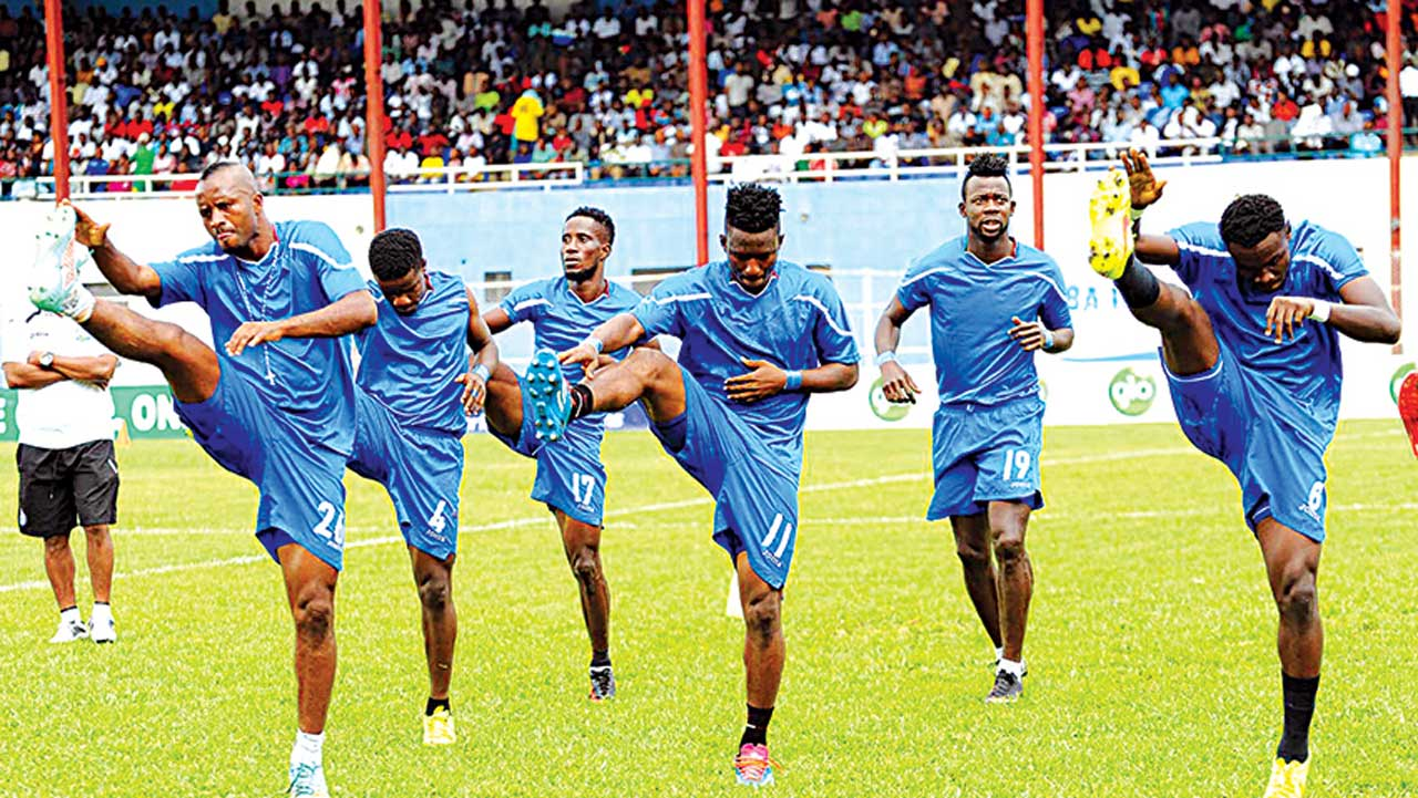 Image result for Enyimba, Pillars go head to head in Kano