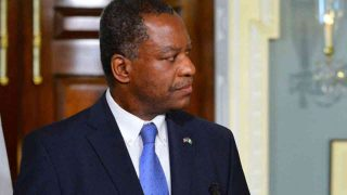 The Minister of Foreign Affairs, Mr. Geoffrey Onyeama
