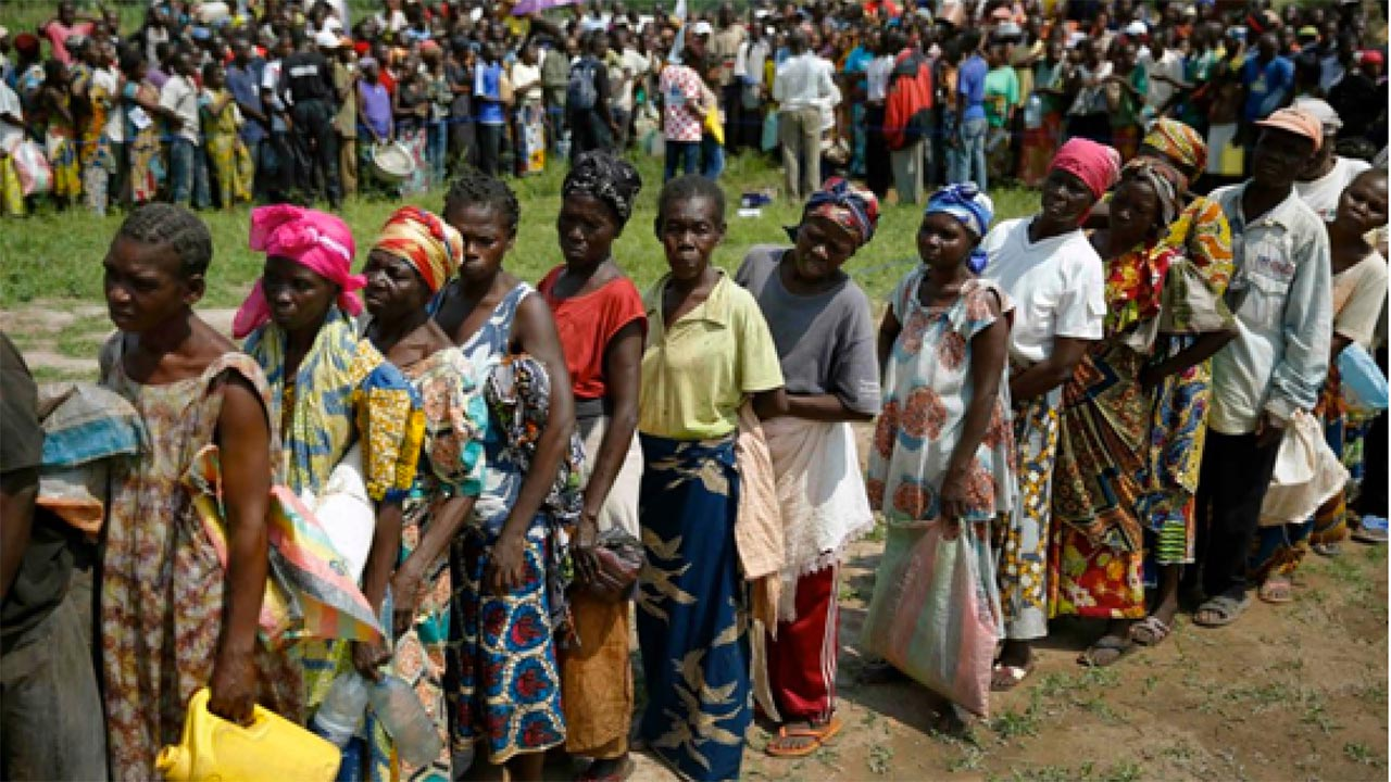 STATE OF IDP CAMPS IN NIGERIA