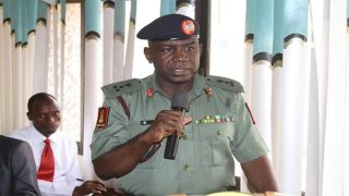 Director General of the National Youth Services Corp, Brigadier General Suleiman Zakari Kazaure