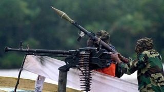 FILE: A Niger Delta militant PHOTO: AFP