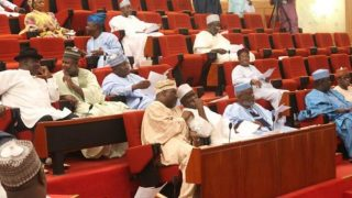 Members of the Nigerian Senate PHOTO: TWITTER/ NIGERIAN SENATE