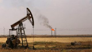 A crude oil production field PHOTO: AFP
