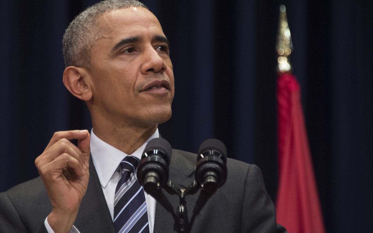 US President Barack Obama. PHOTO: AFP PHOTO / JIM WATSON