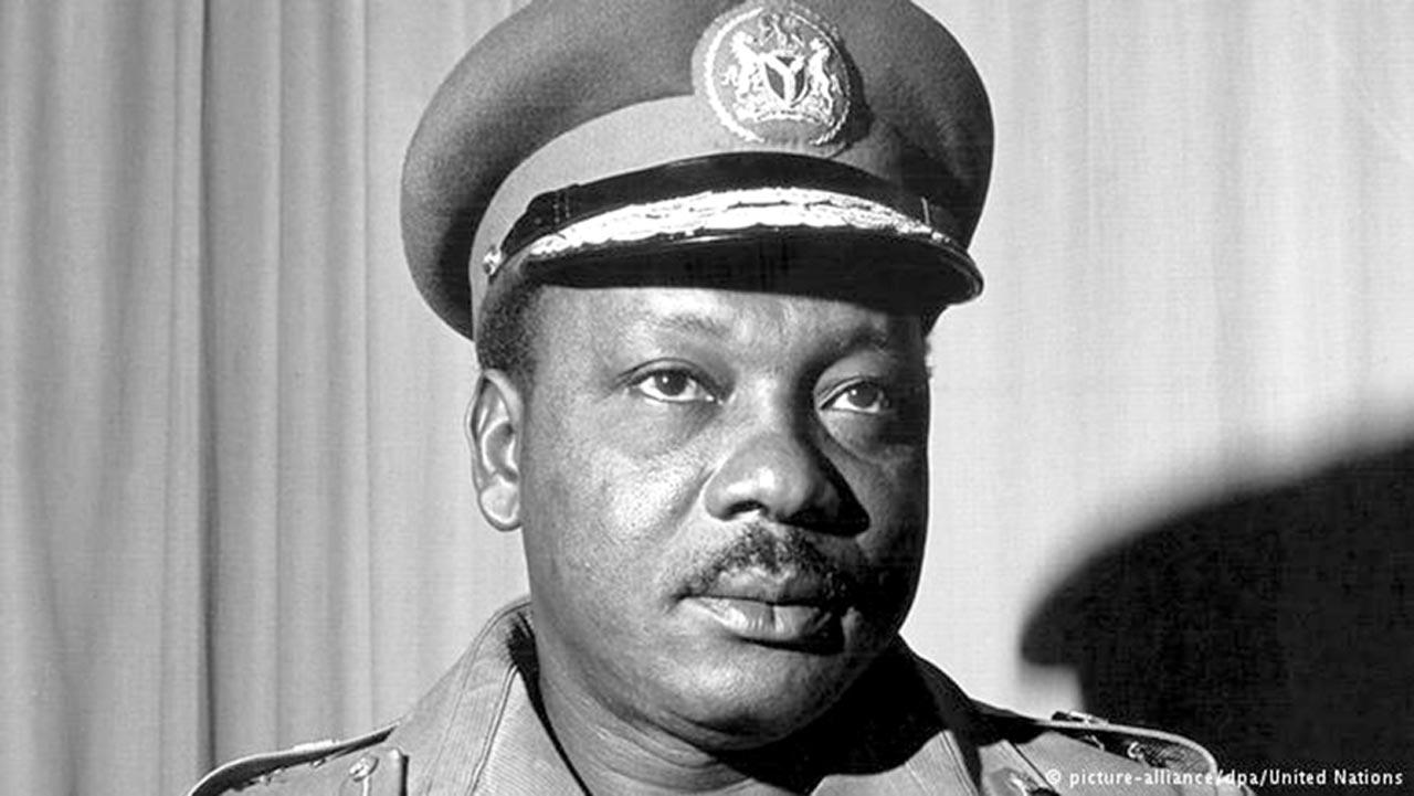 First military Head of State, Major General Johnson Thomas Umunnakwe Aguiyi-Ironsi