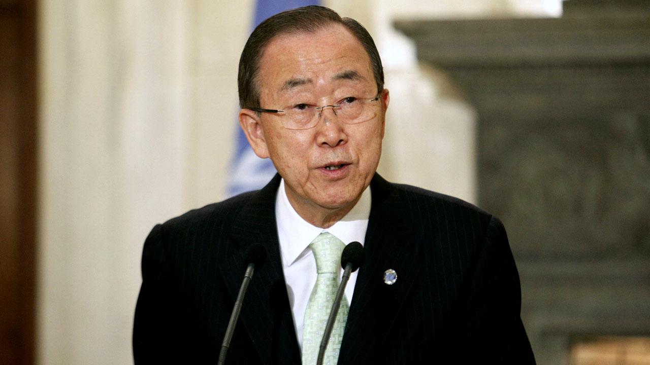 Ban Ki-moon / AFP PHOTO / Eurokinissi / Yorgos KONTARINIS