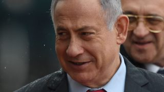 Israeli Prime Minister Benjamin Netanyahu/ AFP PHOTO / VASILY MAXIMOV