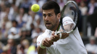 Serbia's Novak Djokovic / AFP PHOTO / ADRIAN DENNIS /