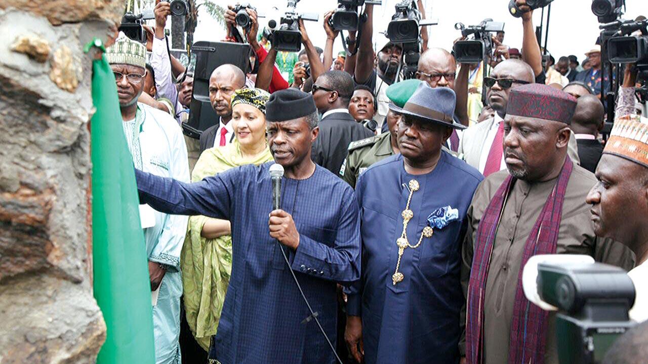 Osinbajo Acting President names Wike