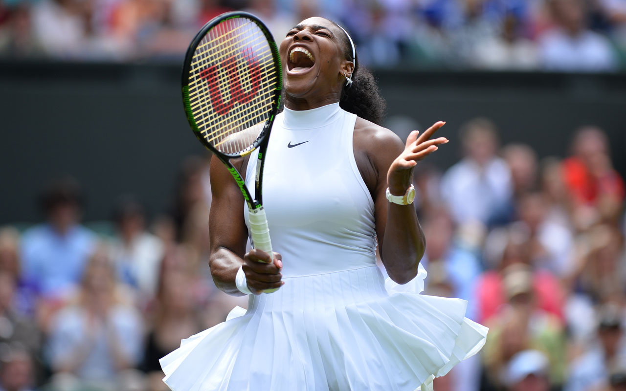 US player Serena Williams  / AFP PHOTO / GLYN KIRK /