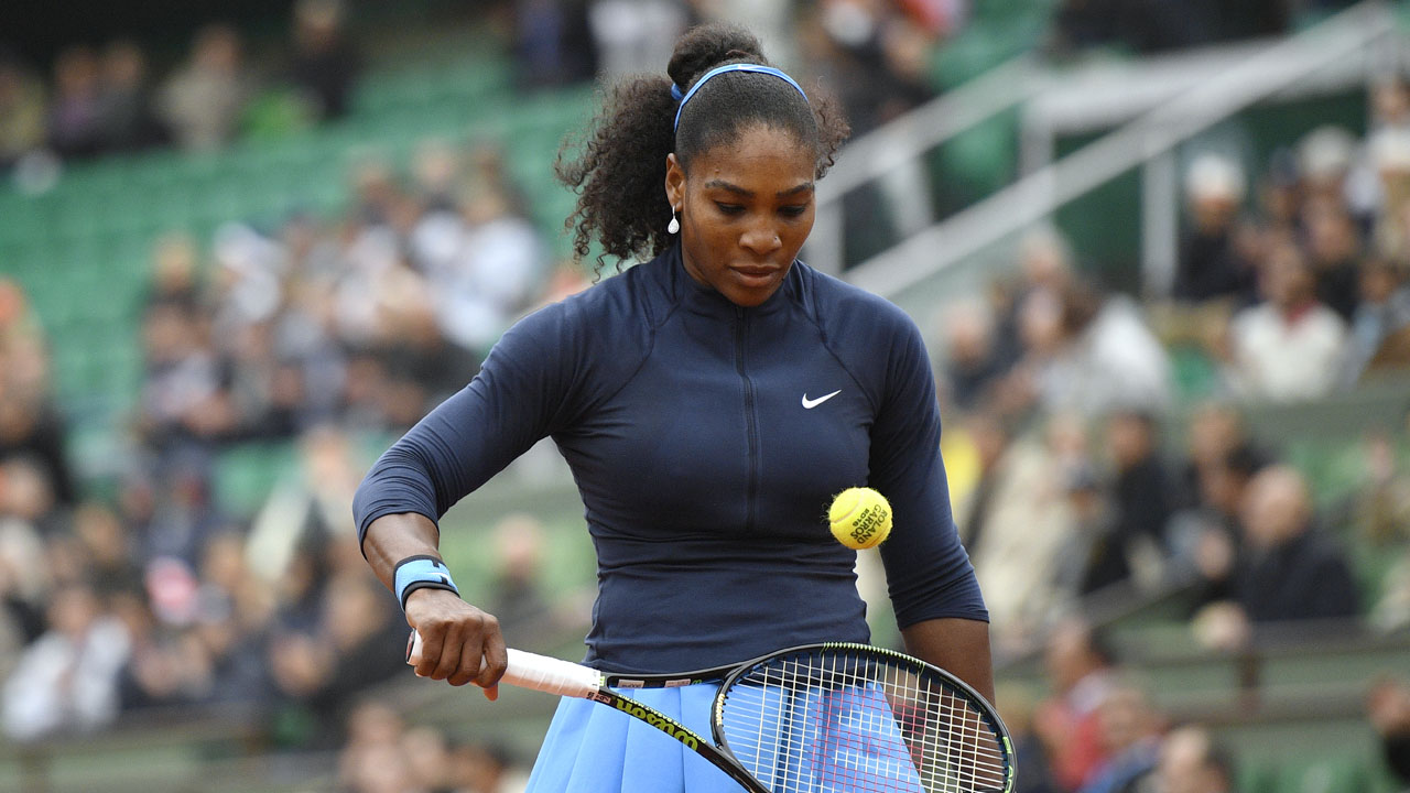 US player Serena Williams/ AFP PHOTO / MARTIN BUREAU