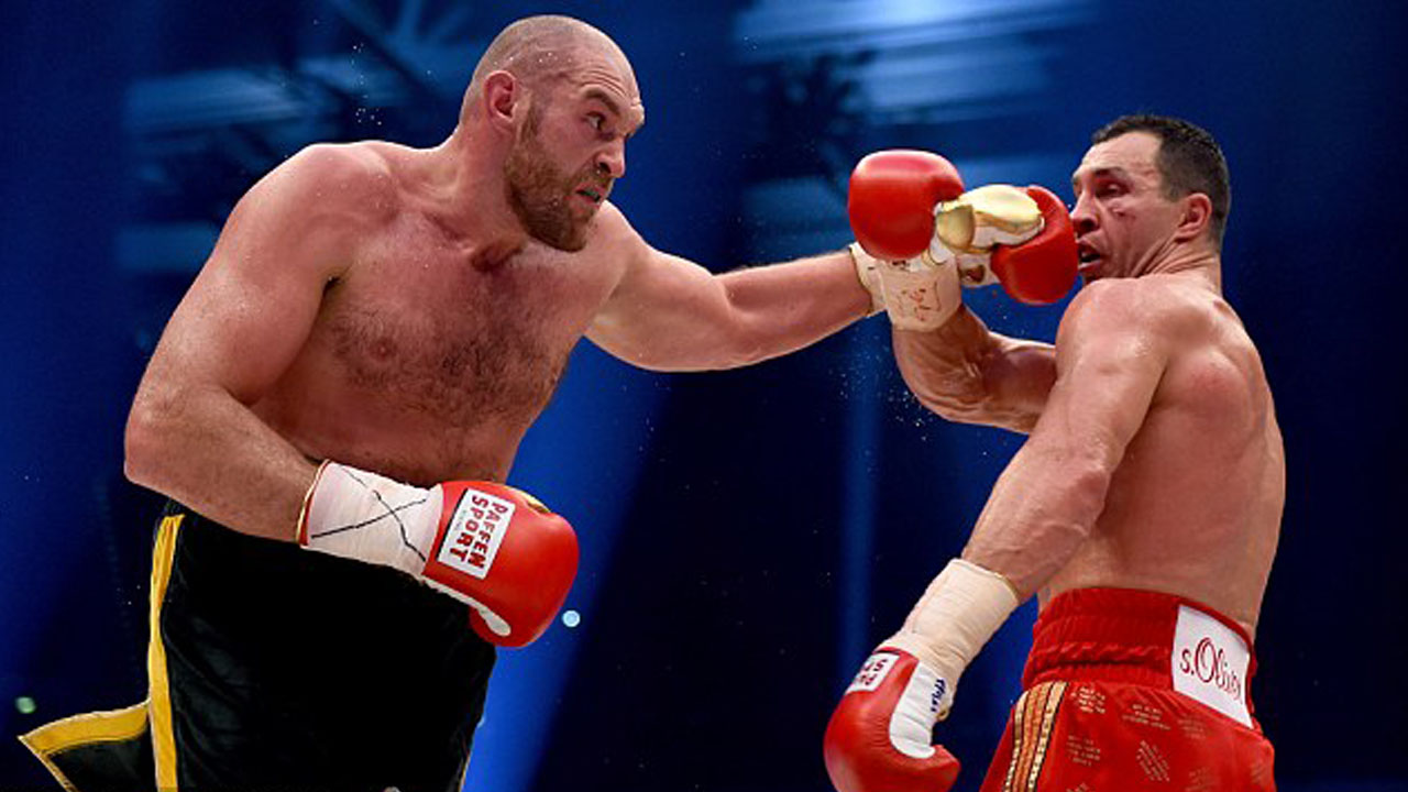 Tyson Fury and other professional boxers could be set to become eligible to compete in the Olympics PHOTO: Getty Images/AFP