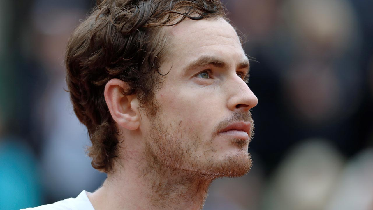 Andy Murray. PHOTO: Thomas SAMSON / AFP