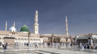 Prophet's Mosque in Medina PHOTO: Getty Images