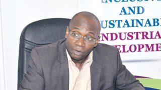 Dr. Ezedinma Chuma, Officer in Charge of the United Nations Industrial Development Organization (UNIDO) Regional Office, Nigeria