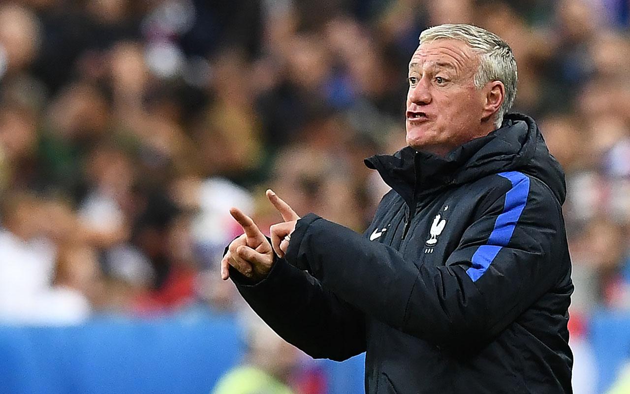 France's coach Didier Deschamps  AFP