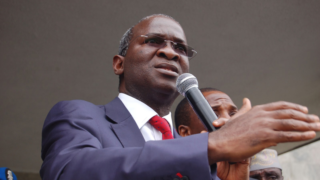 Babatunde Raji Fashola, Minister of Works, Power and Housing.